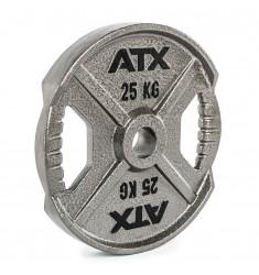ATX® XT Iron Plate - 25 KG - Hantelscheibe mit Hammerschlageffekt