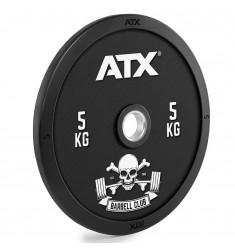ATX® Barbell Club - Full Design Bumper Plates/ Vollgummi Hantelscheibe - 5 kg