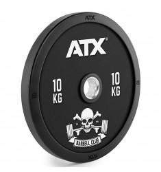 ATX® Barbell Club - Full Design Bumper Plates/ Vollgummi Hantelscheibe - 10 kg