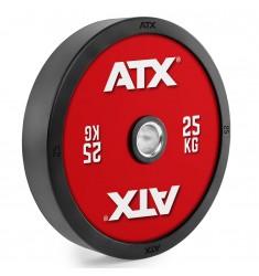 ATX® Bumper Plate Color Code / Hantelscheiben 5 bis 25 kg (Hantelscheiben)