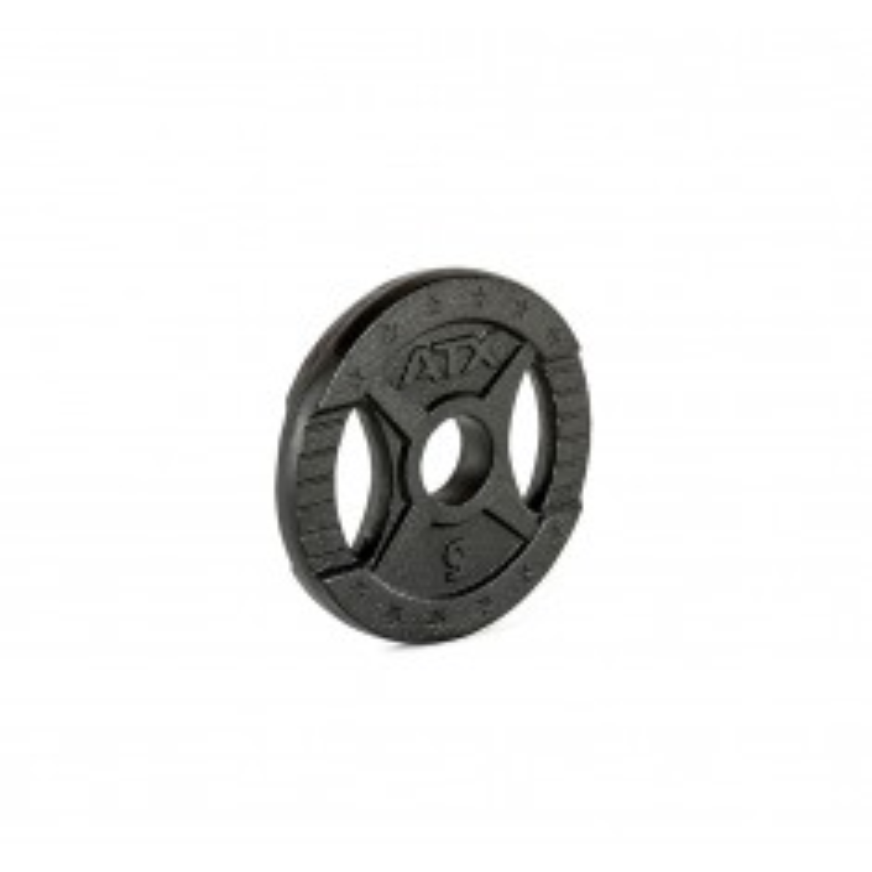 Hantelscheibe ATX® - 2 Grip - Guss 50 mm - 0,5 kg (Hantelscheiben)