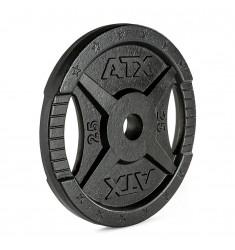 ATX® 2-Grip - 50 mm - Hantelscheiben Guss - 25 kg (Hantelscheiben)