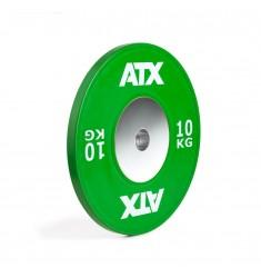 ATX® HQ-Rubber Bumper Plate - Hantelscheibe - grün - 10 kg