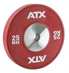 ATX® HQ-Rubber Bumper Plate - 50 mm - rot - 25 kg