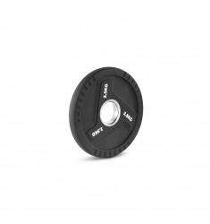 2,5 kg / 50 mm Super-Polyurethan 3-Grip Hantelscheibe