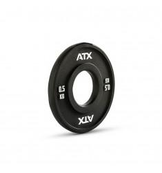 ATX® PU Fractional Plates / Change Plates - schwarz - 0,5 kg