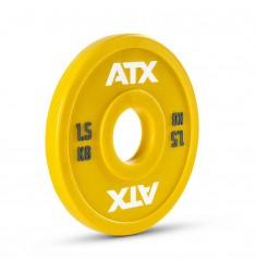 ATX® PU Fractional Plates / Change Plates - gelb - 1,5 kg