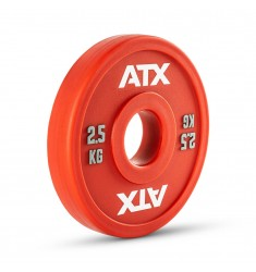ATX® PU Fractional Plates / Change Plates - rot - 2,5 kg