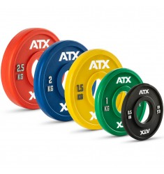ATX® PU Fractional Plates / Change Plates 0,5 bis 2,5 kg (Hantelscheiben)