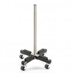 ATX® Bumper Plate Stacker - rollbarer Stapelständer für Hantelscheiben - Schräge Ansicht