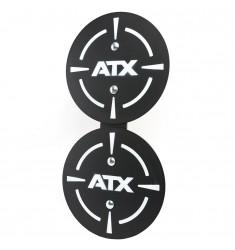 ATX® Ballwurf Zielscheibe doppelt