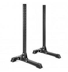 ATX® Free Stands - das freistehende Hantel Rack - schräge Frontansicht