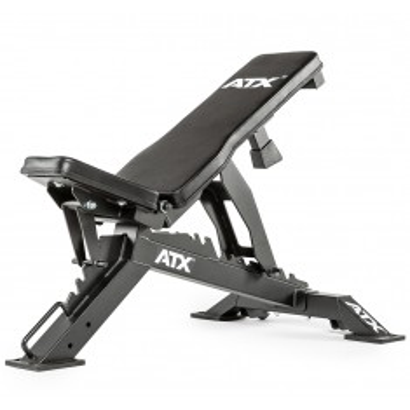 ATX® Warrior Bench / Multibank - Wide (Hantelbänke) - schräge Ansicht von vorne - 45 Grad