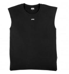ATX® Muscle Shirt, Größe M, Farbe Schwarz - ATX® Sportswear Collection - Vorderansicht