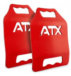 ATX® Tactical Weight Vest Plates - rote Gewichtsplatten 2 x 6,17 lb