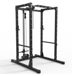 ATX® Power Rack – Komplettstation- 610 mit Plate Load Latzugstation Höhe 198 cm (Racks