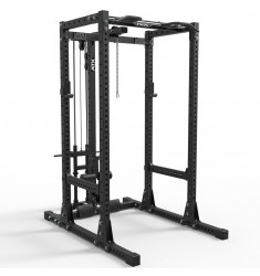 ATX® Power Rack 750 - Set 140 mit Plate Load Latzug und Indexing Multi Chin-up