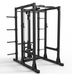ATX® Power Rack 750 Storage Set 250 mit Plate Load Latzug