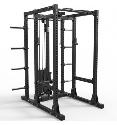 ATX® Power Rack 750 Storage Set 280 mit Stack Weight Latzug