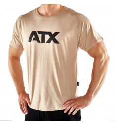 ATX® T-Shirts, Größen S bis XL, Farbe Light Taupe - ATX® Sportswear Collection