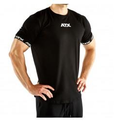 ATX® Training T-Shirts, Größen S bis XL, Farbe Schwarz - ATX® Sportswear Collection