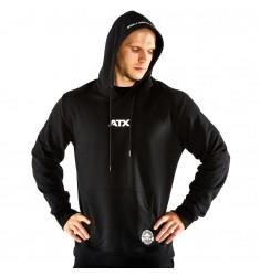 ATX® Hoodie, Größen S bis XL, Farbe Schwarz, Ansicht von vorne - ATX® Sportswear Collection