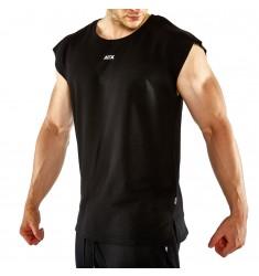 ATX® Muscle Shirt, Größen S bis XL, Farbe Schwarz - ATX® Sportswear Collection - Tragebeispiel