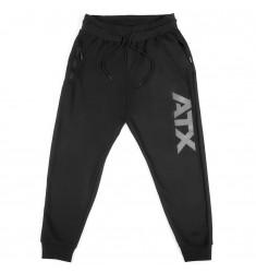 ATX® Sweatpants / Lange Trainingshose, Größe M, Farbe Schwarz - ATX® Sportswear Collection