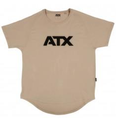 ATX® T-Shirt, Größe S, Farbe Light Taupe - ATX® Sportswear Collection