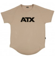 ATX® T-Shirt, Größe M, Farbe Light Taupe - ATX® Sportswear Collection