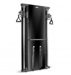 ATX® Duale Wandzugstation 2 x 60 kg mit Steckgewichten / Wall Mounted Functional Trainer - Double (Kraftgeräte) - Draufsicht