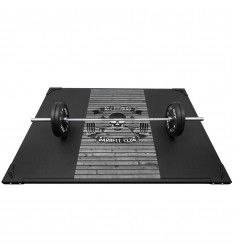 ATX Weight Lifting Platform Barbell Club Wood Grey (Bodenbelag)