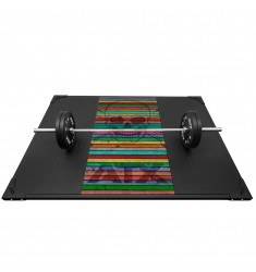 ATX Weight Lifting Platform Skull Wood Colorful (Bodenbelag)