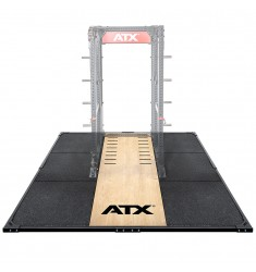 ATX® Weight Lifting / Power Rack Platform XL 3 x 3 m mit ATX® Schriftzug (Abwurfplattformen)