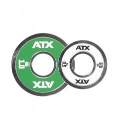 ATX® Fractional Stahlhantelscheiben / Technikhantelscheiben 0,5 und 1,0 kg