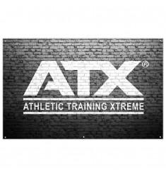 ATX® Wandanner Fitness 200 x 125 cm - Black (Standard)