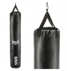 Boxsack Everlast MMA - Vinyl Muay Thai Bag in schwarz