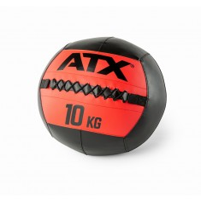 ATX® Wall Balls - schwarz / rot - 10 kg (Bälle)
