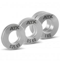 ATX® Mini Fractional Steel Plates - Gewichtsgrößen 0,25 kg, 0,5 kg und 1 kg
