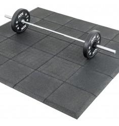 Gymfloor® - Granulat Schutzplatten 500 x 500 x 30 mm