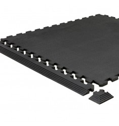 GymFloor® Boden-Vollgummi Puzzleplatte