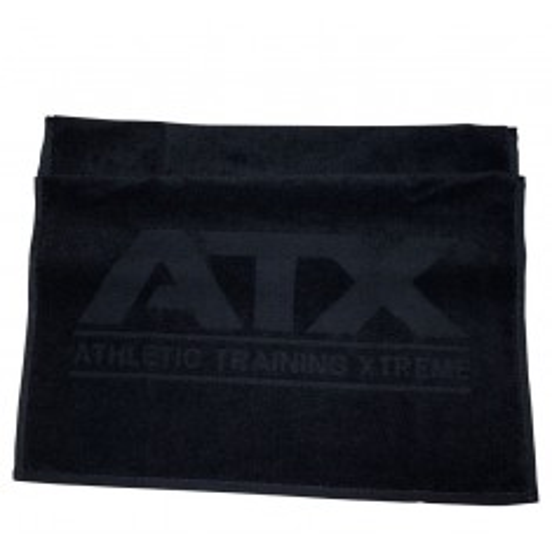 Handtuch in schwarz mit ATX®-Logo