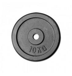 Hantelscheibe Guss - 30 mm - schwarz 10 kg