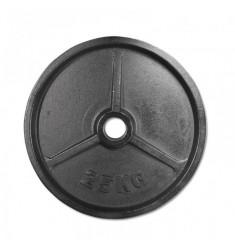 Hantelscheibe Guss 50 mm - 25,0 kg