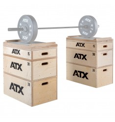 ATX® Heavy Weight - Wood Jerk Block Set - Anwendungsbeispiel