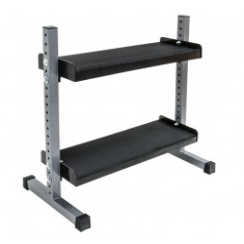 Kettlebell-Rack 2-stufig - 120 cm / B-Ware