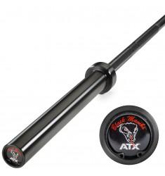 ATX® Power Bar - Black Mamba + 700 kg - Federstahl (Hantelstangen 50mm)