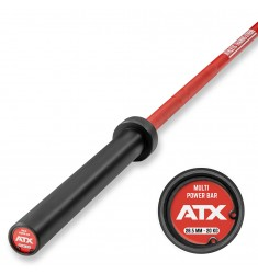 ATX® Cerakote Multi Bar - Langhantelstange in Fire Red (Hantelstangen)