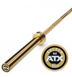 ATX® - The Golden - Powerlifting Bar - die besondere Hantelstange mit Titanium-Beschichtung