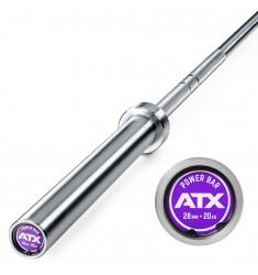 ATX® Power Bearing Bar 220 cm +700 kg - Federstahl - gelagert (Hantelstangen)
